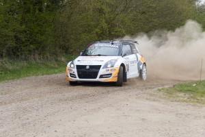 Generel vinder af DM1, Kenneth Madsen i Suzuki